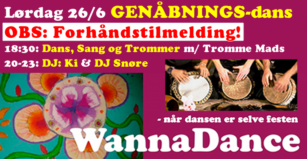 WannaDance GENÅBNINGS-DANS - HOT RYTHMS